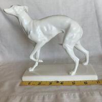 Vintage, Bone China Porcelain Greyhound Figurine, Noritake, Japan