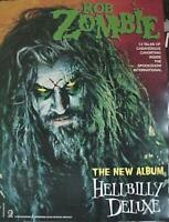 ROB ZOMBIE ORIGINAL HELLBILLY DELUXE CD / LP GOGOS COVER ART POSTER ENDING SOON