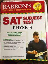 Sat Subject Test Physics, 10th Ed (Barron's SAT ... by Gerwitz, Herman Paperback