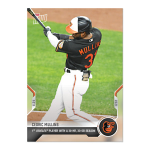 2021 Topps Now #851 CEDRIC MULLINS BALTIMORE ORIOLES  - PREORDER