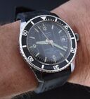 RARE SICURA BREITLING MEN'S VINTAGE DIVER WATCH UHR 38MM HAND WINDING
