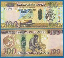 Solomon Islands 100 Dollars P 36 2015 UNC Low Shipping! Combine FREE!