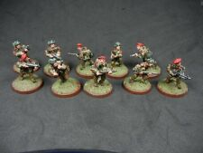 Painted 28mm Bolt Action British Airborne squad - FREE Shipping
