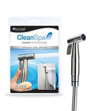 CleanSpa Luxury Hand Held Bidet Brondell Shattaf Stainless Steel Hygienic Wash