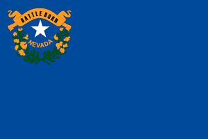 5,4x8,4 cm PREMIUM Auto Aufkleber Nevada USA Länder Sticker