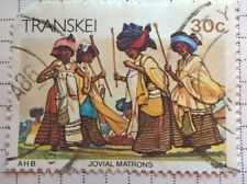 South Africa stamps - Transkei: Jovial Matrons - 30c