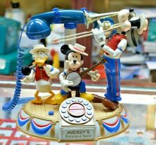 Disney's MICKEY MOUSE Musical Animated Dixieland Band Telephone 12""