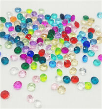 400Pcs4mm Mix Crystal Birthstones Floating Charm for Glass Living Memory Locket