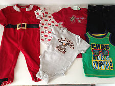 6 pc baby wholesale mix clothes lot,boys mix 12-18 mon unisex pre-owned.