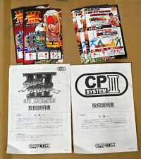 Capcom Street Fighter 3 New Generation CPS III System Arcade Game Manual Japan