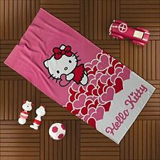 Hello Kitty Pink Bath Beach Towel for swim, pool, yoga and spa (30