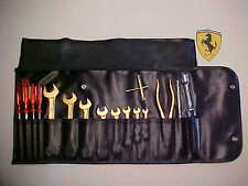 Ferrari Tool Kit_Roll Bag_Wrenches_Screwdrivers_Pliers_Weber 246 308 365 512 BB