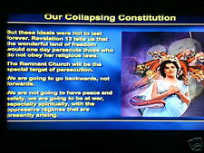 OUR COLLAPSING CONSTITUTION DVD SET/CONSPIRACY/PROPHECY~Hal Mayer~Adventist~SDA