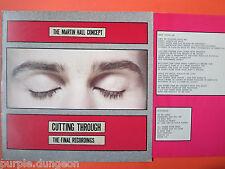 MARTIN HALL CONCEPT - Cutting Through     Vinyl LP
