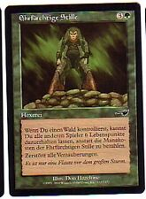 MTG 4X GERMAN NEMESIS REVERENT SILENCE NM MAGIC THE GATHERING CARD GREEN SORCERY