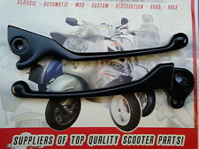 Vespa PX LML Disc Lever Set Black Dog Leg Style... NEW!!