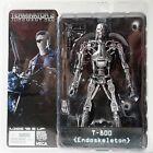 "Movie Neca Terminator 2 Judgment Day T-800 Endoskeleton 7"" Action Figure In Box"