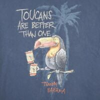 Tommy Bahama Relax Mens Medium Shirt Toucans Are Better Than One