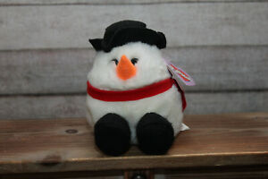 PUFFKINS Collection FLURRY the Snowman Limited Edition DOB 12/1/97 Swibco