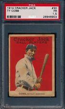 1914 Cracker Jack Ty Cobb #30 PSA 1.5