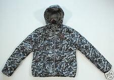 NUOVO tutto star converse donna piumino inverno giacca con cappuccio tg. S