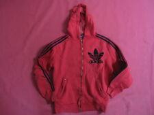 Giacca con cappuccio Vintage Adidas Trefoil ANNI '70 Tuta giacca - 12 o 14 anni