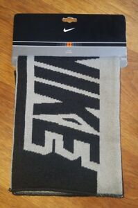 Nike Scarf - Black and Gray , Brand New . Euro