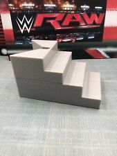 WWE Mattel Elite Ring Steps Stairs Figure Accessory Authentic Scale Ring