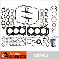 Fit 03-04 Infiniti FX35 G35 03-06 Nissan 350Z 3.5L DOHC Full Gasket Set VQ35DE