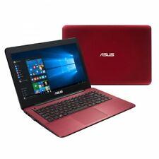 ASUS X540S Laptop (Intel Quad Core, 1TB HDD, 4GB RAM, Windows 10) - Red/Black
