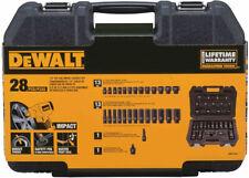 DeWALT 1/2-Inch 28-Piece Imperial SAE Impact Socket Sets