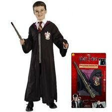 Licensed Childs Harry Potter Robe Wand & Glasses Kit Book Day Set by Rubies New