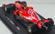 2018 Kimi Raikkonen SF71H Ferrari 1:18 Mission Winnow Livery Bburago