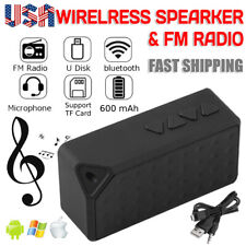 Portable Mini Wireless Bluetooth Speaker FM Radio  Stereo For Phone Tablet New