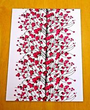MARIMEKKO POSTCARD - 'LUMIMARJA' DESIGN BY ERJA HIRVI, 2004 - NEW