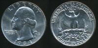 United States, 1984-P Quarter, 1/4 Dollar, Washington - Uncirculated