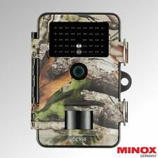 MACCHINA fotografica Minox DTC 550 Wildlife Trail IR Flash Camo Sicurezza Movimento negli (60734)