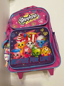 Backpack Small 12 Inch Rolling Shopkins