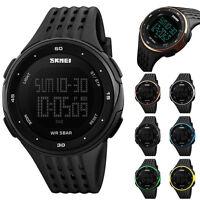 SKMEI hombres Deporte Quartz analógico Digital Militar reloj pulsera Impermeable