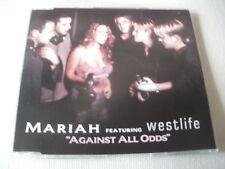 MARIAH CAREY / WESTLIFE - AGAINST ALL ODDS - UK CD SINGLE