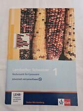 Lambacher schweizer 1 Arbeitsheft Mathematik mit Lernsoftware