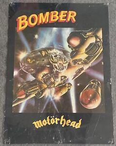 1979 MOTORHEAD promo poster ~ BOMBER ~ 16.5x23