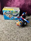 Vintage MIKUNI Wind-Up Clown Police Helicopter Made In Japan With Box.