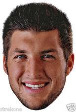 TIM TEBOW Christian Baseball / Football Player - Big Head Window Cling Sticker