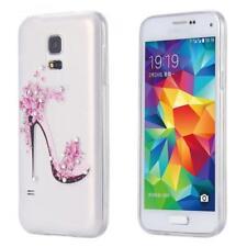 Samsung Galaxy S5 mini SLIM TPU CASE STRASS SCINTILLANTS COQUE HOUSSE CASE MOTIF