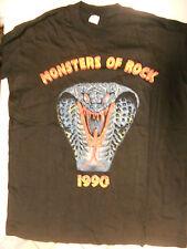 Monsters of Rock 1990 T-shirt Rare Vintage Original 1990