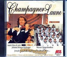 Schöne CD: André Rieu - CHAMPAGNER- LAUNE - Wiener Sängerknaben, Joseph Francek