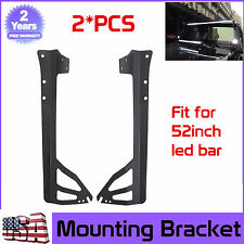 52'' Steel Metal Upper Roof Windshield Mounting Brackets for Jeep Wrangler JK HT