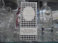 """MISS DIOR CHRISTIAN DIOR EDT atomiseur 60g very rare vintage perfume""""sealed""""80's"""