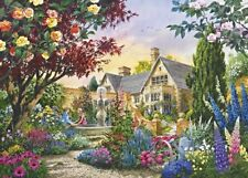 BNIB Gibsons SUMMER ROMANCE 1000 Piece Jigsaw Puzzle Stately Home Gardens